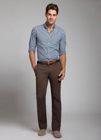 Pantalón chino en marrón oscuro de Volcom