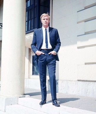 Corbata azul de Little Black Tie