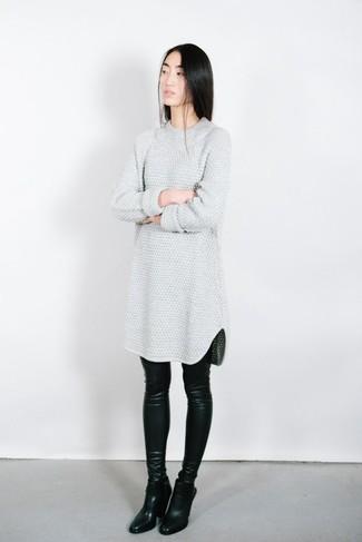 Vestido jersey gris de Marc by Marc Jacobs
