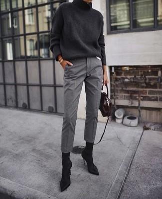 Cómo Combinar Un Pantalón De Vestir Gris 91 Looks De Moda