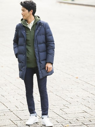 Sudadera con capucha verde oscuro de Spalding