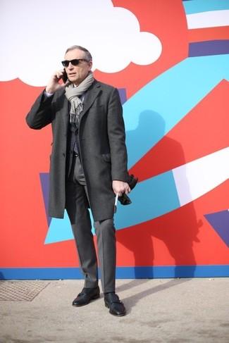Pantalón de vestir en gris oscuro de Tommy Hilfiger