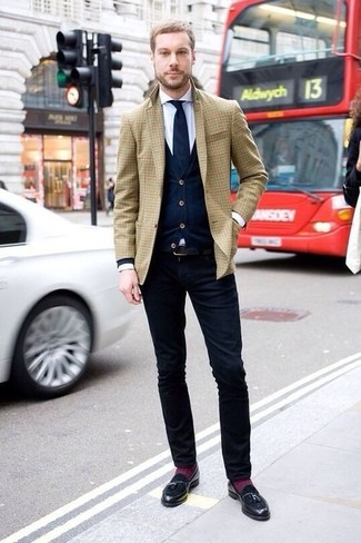 Cárdigan azul marino de Fashion Clinic Timeless