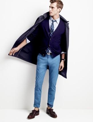Pantalón chino azul de Dockers