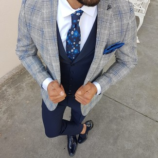 Chaleco de vestir azul marino de Tommy Hilfiger