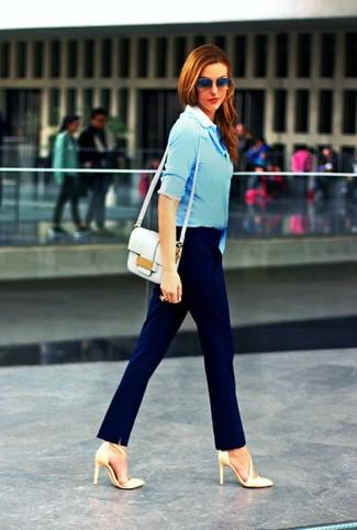 Venta barata confiable Footlocker Imágenes en línea Zapatos azules celeste formales para mujer Compre barato Obtenga Auténtico Comprar barato 2018 NdfvHb5Z