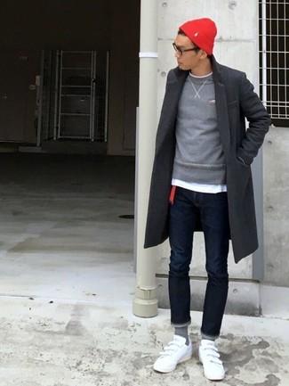 Jersey con cuello circular gris de Levi's