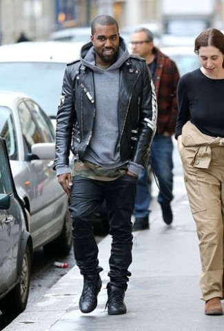 Vaqueros negros de Versace Jeans