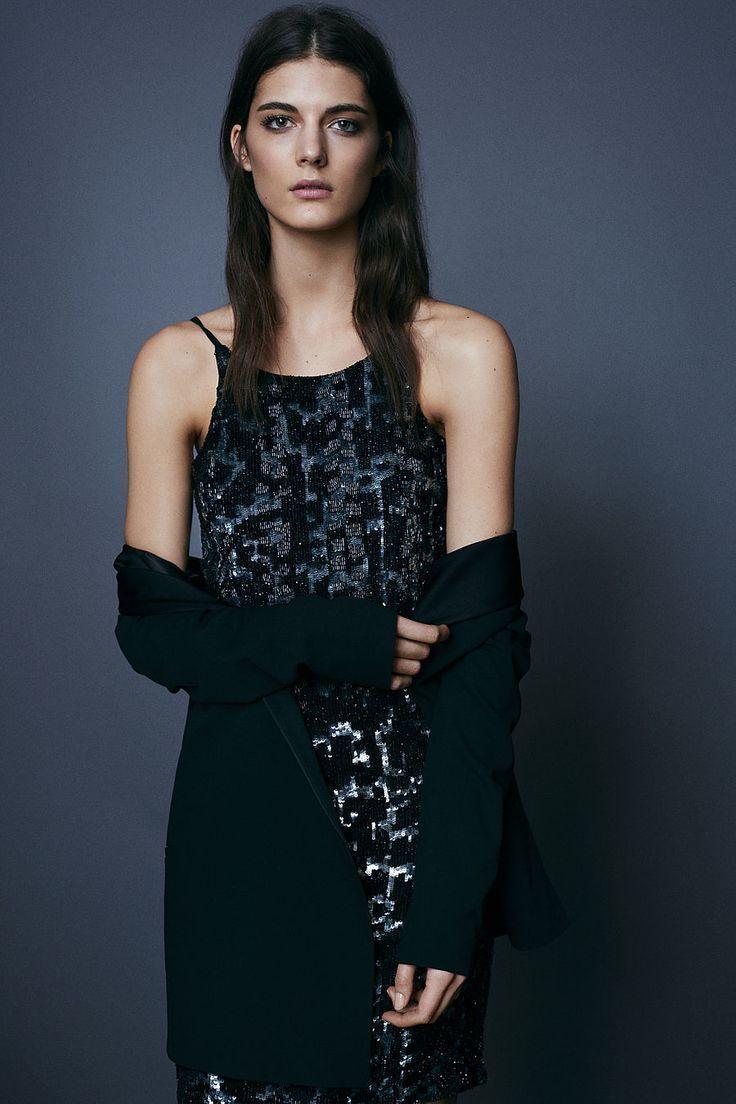 Outfit Con Vestido Negro De Lentejuela U2013 Vestidos De Noche Populares Foto Del Sitio Blog