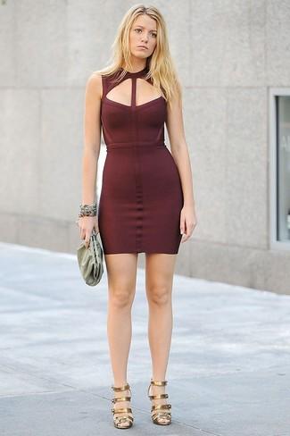 Vestido Burdeos491 Looks ModaModa Para Combinar Cómo De Un UzVGLSqMp