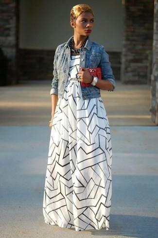 60% de liquidación imágenes detalladas nueva alta calidad Look de moda: Collar negro, Cartera sobre de cuero roja ...