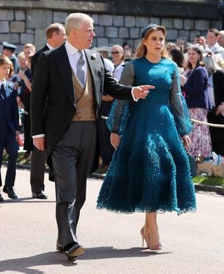 Un Verde ModaModa Vestido De Cómo En Azulado132 Looks Combinar MGLSVpqUz