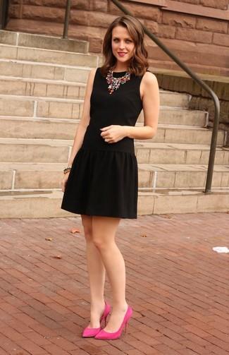 Que zapatos ponerte con un vestido negro
