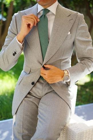a25d1f8f5514f Cómo combinar un traje gris (558 looks de moda)