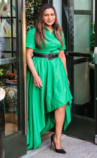 Combinar zapatos para vestido verde