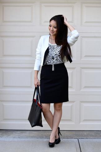 Blazer para combinar con vestido negro