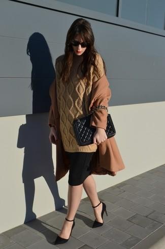 Jersey de ochos marrón claro de Inhabit
