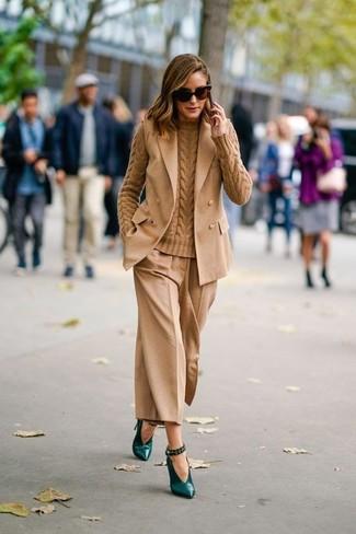 Jersey de ochos marrón claro de J Brand
