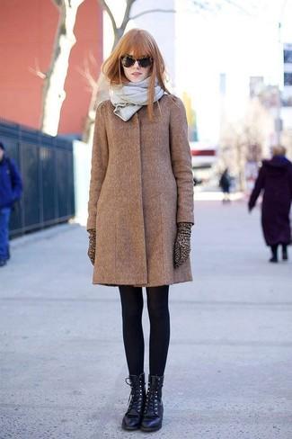 Abrigo marrón de Marni