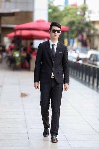 4213d31e3 Traje negro de Gucci, MEX$43,531 | farfetch.com | Lookastic México