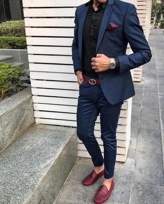 tienda de liquidación e6f28 8625a Cómo combinar un mocasín rojo (119 looks de moda) | Moda ...