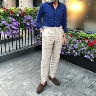 Pantalón de vestir en beige de Kenneth Cole Reaction