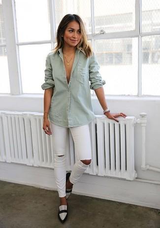 Camisa vaquera gris de J Brand