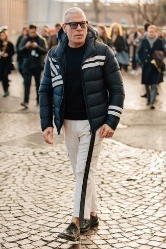 Pantalón cargo blanco de DSQUARED2