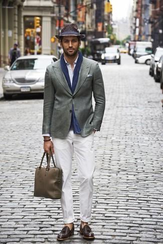 Blazer gris de Paolo Pecora