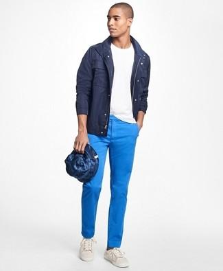 Combinar un pantalón chino azul (779 looks) | Outfits Hombre ...