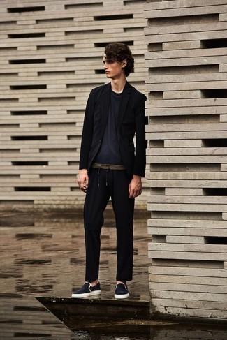 Combinar Unos Pantalones Negros Para Hombres Adolescentes Estilo Casual Elegante 32 Looks Outfits Hombre Lookastic Mexico