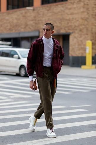 Combinar Un Pantalon Chino Con Unos Pantalones Para Hombres Adolescentes 190 Looks Outfits Hombre Lookastic Mexico