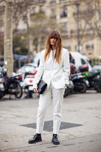 Pantalón de vestir blanco de Gucci