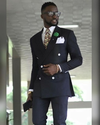 Corbata en multicolor de Versace