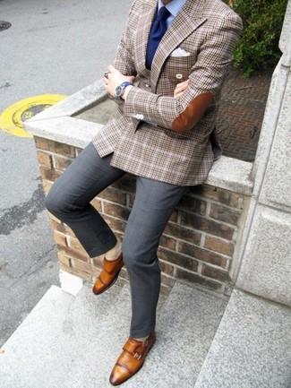 Zapatos con hebilla de cuero marrón claro de Cole Haan