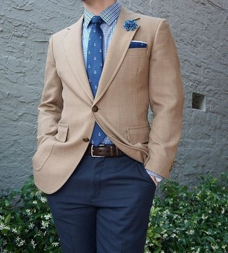 Blazer marrón claro