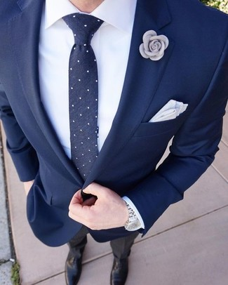 Marino Combinar Con De Negro Un Azul Pantalón Blazer Cómo Vestir LzGqSMjpUV