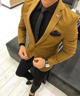 gran venta muy barato vendido en todo el mundo Combinar una chaqueta de lana dorada para hombres de 30 años (5 ...