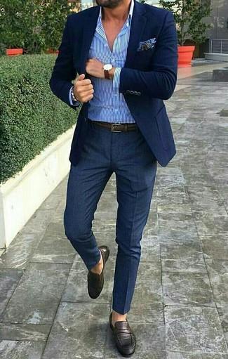 Combinar Una Correa En Tabaco En Verano 2020 800 Looks Outfits Hombre Lookastic México