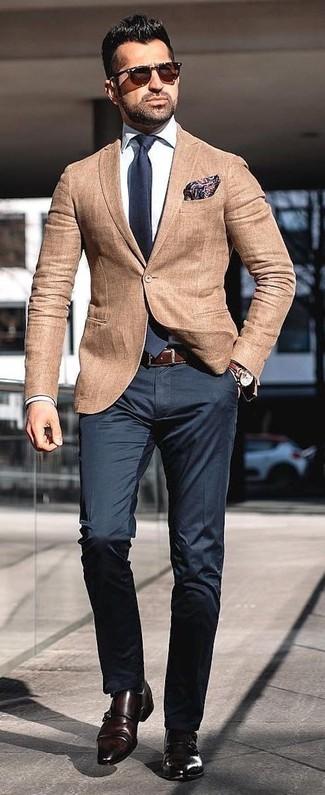 Para Combinar Moda Cómo Moda Un Claro 339 De Looks Blazer Marrón UPABgvq