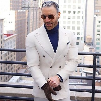 Pantalón de vestir blanco de Cubavera