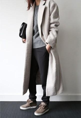 Jersey de ochos gris de Carven