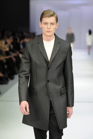 Jersey con cuello circular blanco de SASQUATCHfabrix.