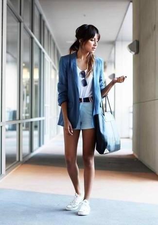 Pantalones Blancos Tenis Cortos Con Cómo Combinar Celestes Unos rCxBoWQde