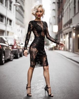 490cf32b30 Cómo combinar un vestido negro (1021 looks de moda)