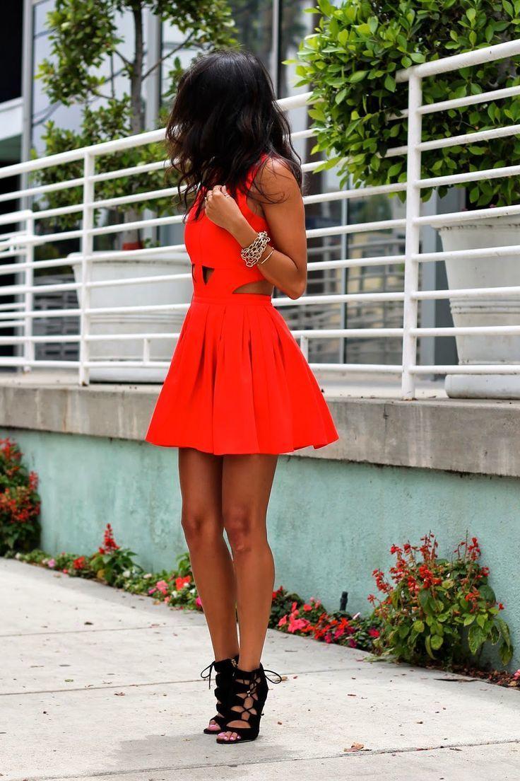 De Vestido Un Unos Looks Rojo424 Con Vestir Moda Zapatos F1clu3TKJ