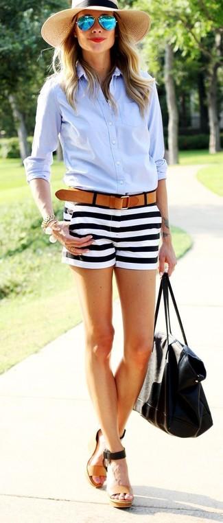 Cortos Horizontales13 Cómo Pantalones Rayas Looks De Combinar Unos OPuZkXi
