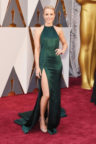 Look vestido verde oscuro