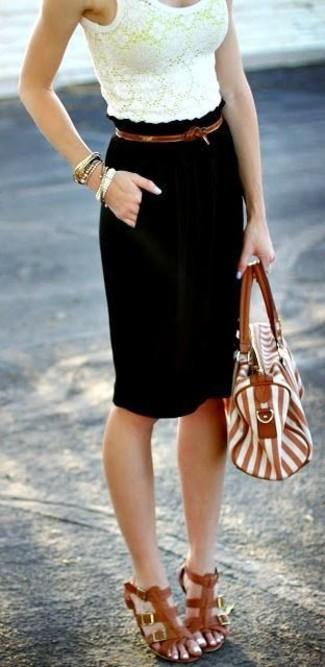 Una Negra250 ModaModa Falda De Combinar Looks Cómo Lápiz Para dxoCBe
