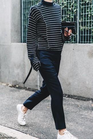 Pantalón de vestir negro de Stella McCartney